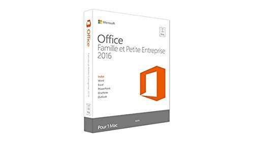 MICROSOFT W6F-00465 MICROSOFT OFFICE MAC HOME BUSINESS 1 PK 2016 ALL LANGUAGES ONLIN by Microsoft