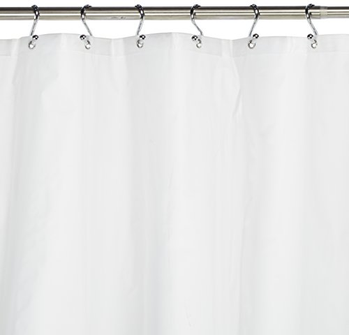 Carnation Home Fashions 10 Gauge Peva 72 By 96 Inch Shower Curtain