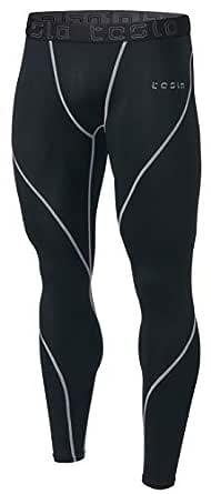 Tesla Men's Compression Pants Baselayer Cool Dry Sports Tights Leggings MUP19-KLG