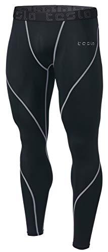 Coldgear Legging Girls (TM-MUP19-KLG_Medium Tesla Men's Compression Pants Baselayer Cool Dry Sports Tights Leggings MUP19)