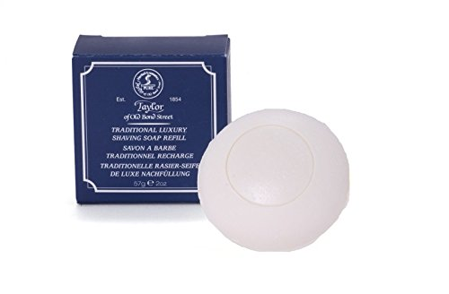 Traditional Luxury Shaving Soap 57g, Refill - Taylor of Old Bond ()