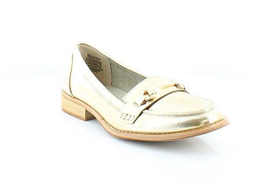 Wanted Shoes Frauen Cititime Loafers Gold Groesse 8 US/39 EU