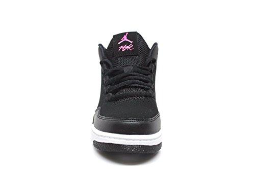 Pictures of Jordan Flight Origin 2 Black/Hyper Pink-White (Little Kid) 3