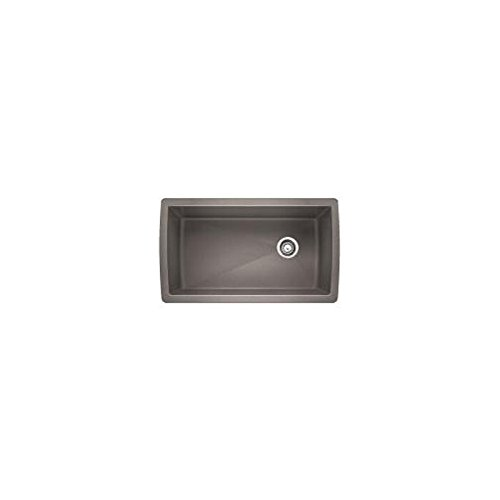 - Blanco 441770 Diamond Super Single Bowl Sink, Metallic Gray
