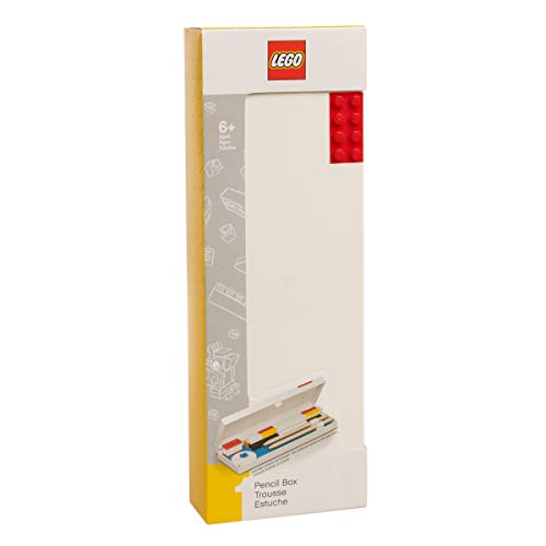 (LEGO Stationery - Pencil Box with Red Building Brick)