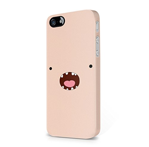 Adventure Time Screaming Finn The Human Face iPhone 5, iPhone 5s Hard Plastic Case Cover