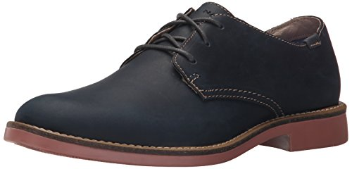 Mark Nason Los Angeles Mens Bartime Oxford Navy Leather