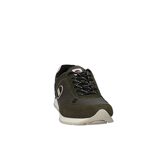 COLMAR 023 Verde TRAVISD023BLACK Black Nero Drill Travis Turnschuhe 6xHP6T