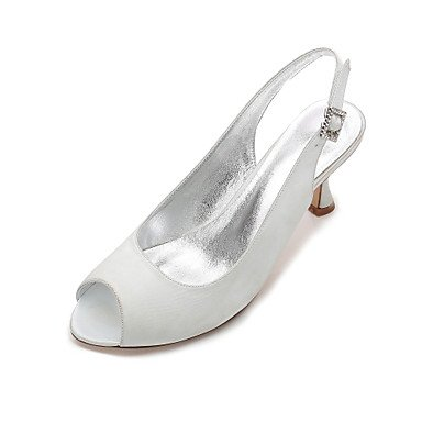 Satin EU42 Champagne UK8 amp;Amp; Party Dress Women'S Flat Heelivory Ruby Wedding CN43 US10 Spring Shoes Bowknot Rhinestone Evening 5 5 Summer Wedding RTRY Comfort Blue IA1aq