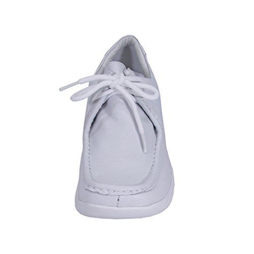 Classic Up Width Wide Elegant Durable Hour Shoes Women Lace Leather Kris White Comfort 24 Cushioned WwqYRF7W
