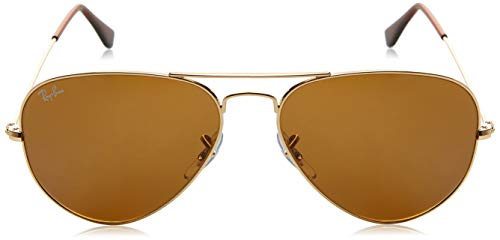 Ray soleil de C58 Lunettes Aviator Ban RB3025 001 Metal 33 Large Oqw151E