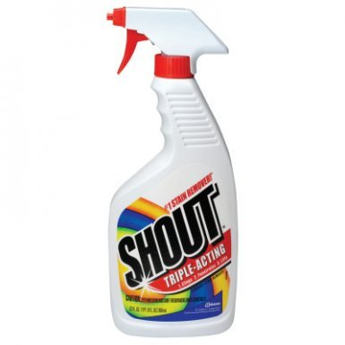 Shout Laundry Stain Remover, 22oz Spray Bottle (12 Pack)