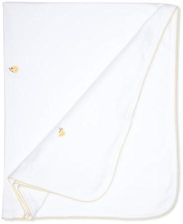 Amazon.com : Baby-niñas recién nacido Pato Manta Recibir, Blanco ...