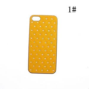 Zircon Palstic Case for iPhone 5/5S(Assorted Colors) --- COLOR:5