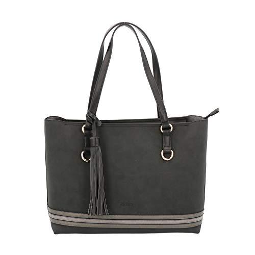 Nero Donna Borsa Melluso M10436 Shopping Bag x60xwFqI