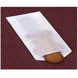 4 1/2in. x 6 3/4in. Glassine Waxed Paper Bags - 100/pack ()