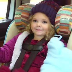 Buckle Me Baby Coats Safest Chunky Collar Car Seat Jacket for Infant Toddler Boys Girl