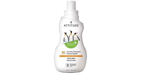 Attitude - Detergente líquido lavadora Cítrico Attitude, 35 dosis ...