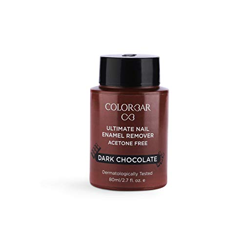 Colorbar Ultimate Nail Enamel Remover, Dark Chocolate, 80ml