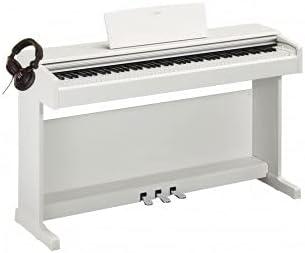 Pack Yamaha YDP-144 Blanco - Piano digital + casco: Amazon.es ...