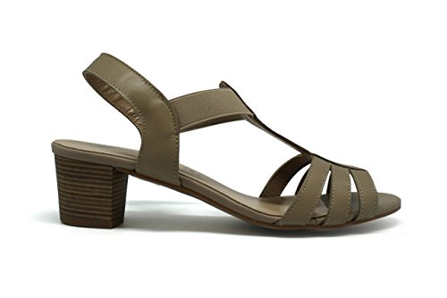 Sandalia de mujer - Maria Jaen modelo 8545N Beige