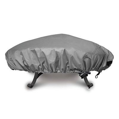 100% Waterproof Heavy Duty Outdoor Patio Round Fire Pit Cover 44 in.D