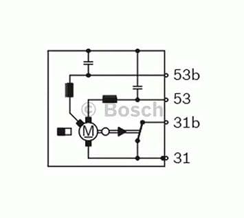 Bosch F006B20057 motor para limpiaparabrisas: Amazon.es: Coche y moto