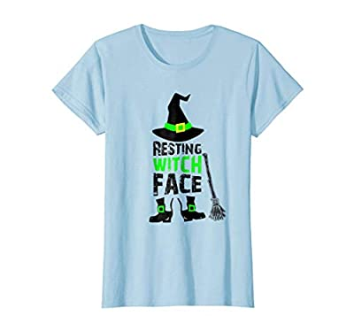 Womens Resting Witch Face Shirt