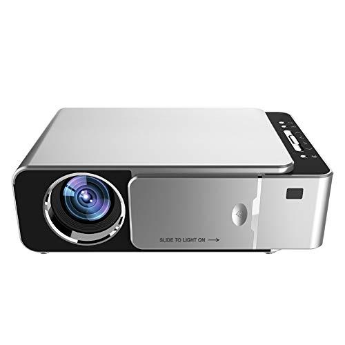 QLPP Proyector de películas Full HD con 2500 lúmenes, proyector de ...