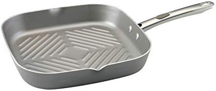 Farberware 20832 Specialties Square Grill, Small, Platinum