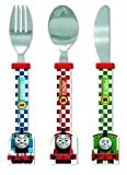 OFFICIAL THOMAS AND FRIENDS 3 PIECE CUTLERY SET!! Complete with Stainless Steel Knife, Fork and Spoon