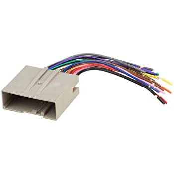 amazon com metra electronics 70 5520 wiring harness for select 2003scosche fd23b 2003 up select ford harness