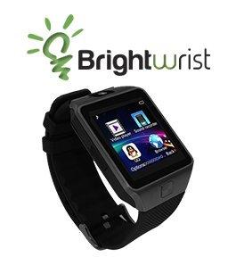 Brightwrist Smartwatch (Black on Black)