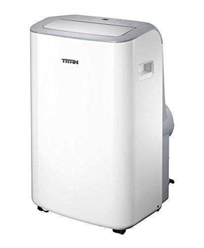 Titan TT-ACP10C01 10000btu Portable Air Conditioner with Remote Control Dehumidifier and Cooling Fan for rooms up to 350 sq ft