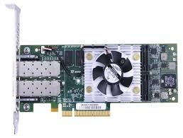 Qlogic QLE8362-CU Dual Port 10GbE PCIe FCoE & iSCSI Converged Network Adapter with Empty SFP+ Cage