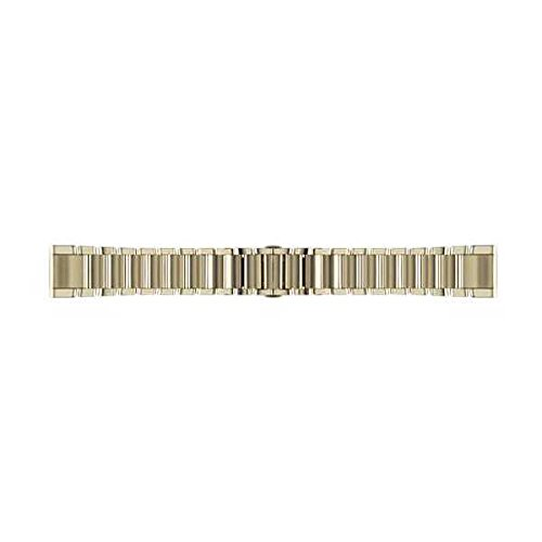 GARMIN(ガーミン) QuickFit 20mm fenix5s/5Splus用交換ベルト シャンパンスチール
