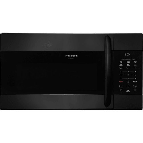 Frigidaire FGMV176NTB Gallery Series 30 Inch Over the Range Microwave Oven with 1.7 cu. ft. Capacity, 1000 Cooking Watts in Black For Sale
