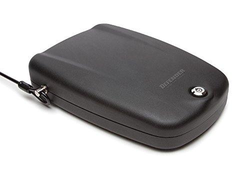 Winchester Safes Defender by Keylock Handgun Safe, Flat Black, 1 Gun Capacity,