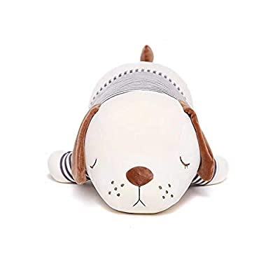 dylad 20 inch Super Soft Plush Puppy Stuffed Animal Toy Plush Soft Dog Hugging Animal Puppy Shape Sleeping Kawaii Pillow.788125001408: Toys & Games