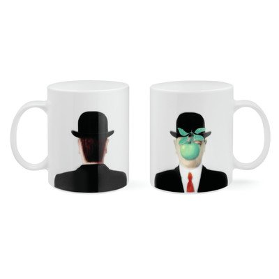 Magritte the Son of Man Mug