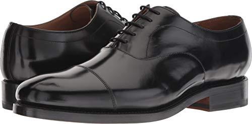 Bostonian Men's Rhodes Cap Black Leather 11.5 M US M (D)