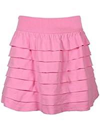 Crush Girls Seamless Skater Skirt with Inner Shorts