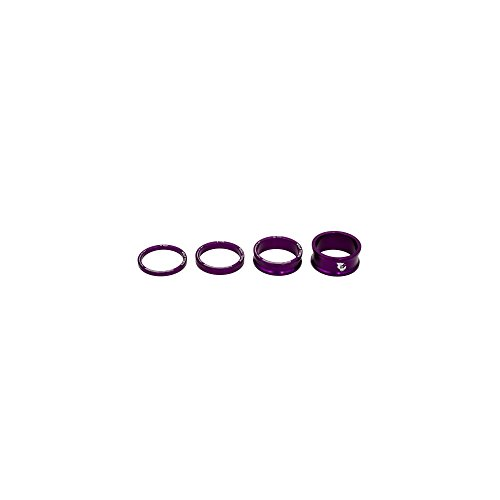 Wolf Tooth Components Headset Spacer Kit Purple, One Size