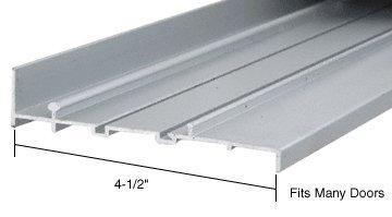 CRL Aluminum OEM Replacement Patio Door Threshold 4-1/2'' Wide x 6 ft long