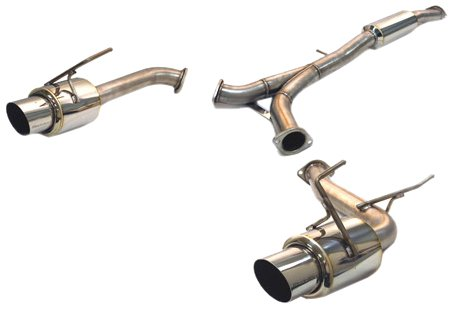 Tanabe T80063 Medalion Concept G Cat-Back Exhaust System for Nissan 350Z - Tanabe Exhaust Back Cat