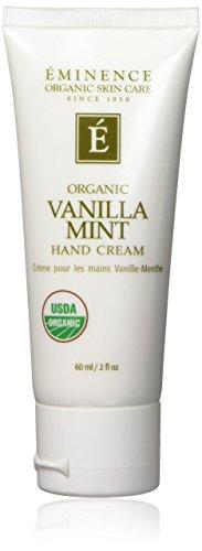 Eminence Organics Hand Cream, Vanilla Mint, 2 Ounce