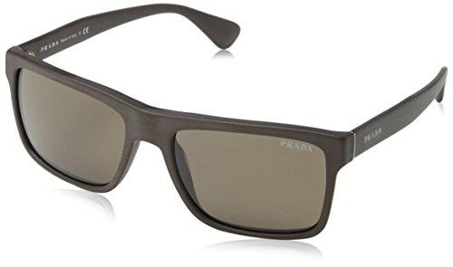 Prada Sonnenbrille (PR 01SS) BRUSHED MATTE BROWN
