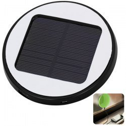 Solar Powered 203621-01 ECO Window Charger in a Smooth Round