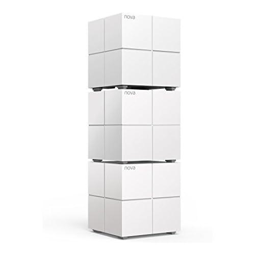 chollos oferta descuentos barato Tenda Mw6 Nova Sistema Mesh WiFi para todo el Hogar paquete de 3 cobertura de doble banda de hasta 500 m2 Mu Mimo control parental funciona con Alexa