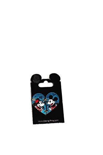 Disney Pins Mickey and Minnie Heart November 2015